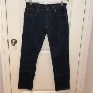Men's JCrew The Driggs Slim Denim Blue Jeans